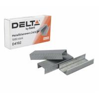 Скобы 24/6 1000 шт Axent Delta (D4102)