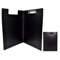 Папка-планшет с верхним зажимом пластик (А4) Economix (клипборд) черная (E30153-01)