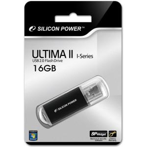 Флешка 16GB Silicon Power Ultima II USB 2.0