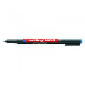 Маркер для пленок синий 0,3 мм кругл након Edding 140