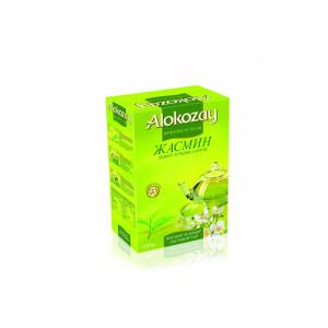 Чай зеленый среднелистовой Alokozay, с жасмином, 100 гр