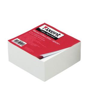 Бумага для записей белая склеен 90 х 90 х 40 мм Axent Elite (8007-A)