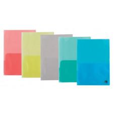 Папка-обложка для каталогов пластик (А4) BuroMax 170 мкм ассорти (BM.3870-99)