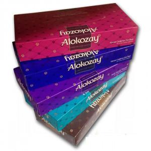 Салфетки 2слой 19,7 х 22 см Alokozay в картон. прямоуг. боксе (70 шт)