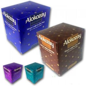 Салфетки 2слой 19,7 х 22 см Alokozay в картон. кубе (100 шт)