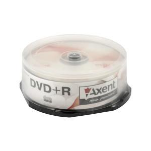 Диск DVD+R 25 шт Cake box Axent 8110, 4.7 GB/120 min 16x
