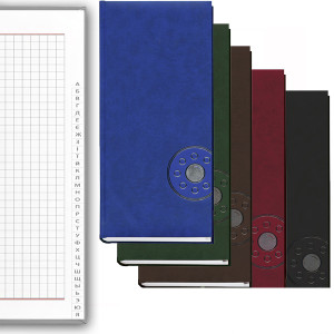 Алфавитная книга 135 х 285 мм 176 л обложка баладек синий (213 05С)
