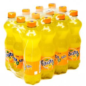 Вода сладкая газир 0,5 л х 12 шт пластик Fanta Orange