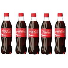 Вода сладкая газир 0,5 л х 12 шт пластик Coca-Cola