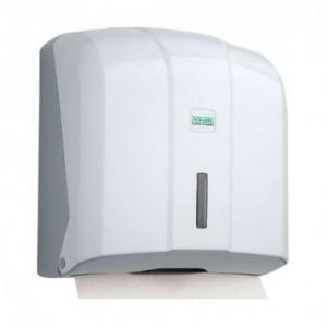 Держатель полотенец бумажных 270 х 130 х 270 мм белый (K4)