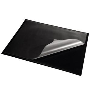 Подложка для письма (652 х 512 мм) Panta Plast PVC черная с карманом (0318-0014-01)