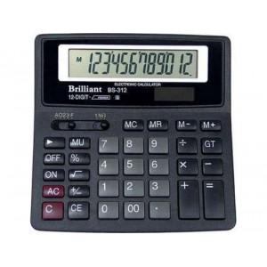 Калькулятор BRILLIANT BS-312 12 разр 156 x 157 x 34 мм