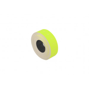 Ценники прямоугольные, 21 х 12 мм, 1000 шт, желтые Economix (E21301-05)
