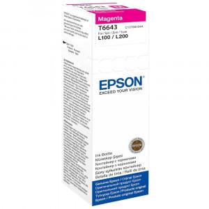 Контейнер с чернилами EPSON L100/L200 magenta (70мл) (C13T66434A)