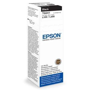 Контейнер с чернилами EPSON L100/L200 black (70мл) (C13T66414A)