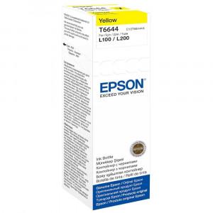 Контейнер с чернилами EPSON L100/L200 yellow (70мл) (C13T66444A)