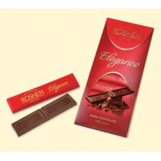 Шоколад Roshen Elegance, экстра черный, 100 гр