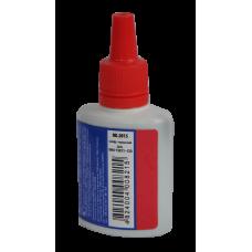 Штемпельная краска BuroMax, 30 мл, на водной основе, красная (BM.1901-03)