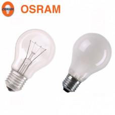 Лампа накаливания OSRAM Classic A CL 100 Вт, цоколь E27 (прозрачная)