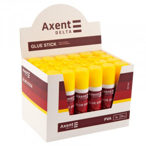 Клей-карандаш 8 гр Axent основа PVA (D7131)