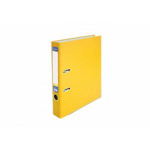 Регистратор 5 см А4 Economix 2стор покрыт, метал окант, желтый, собран (Украина) (E39720*-05)