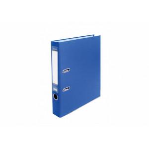 Регистратор 5 см А4 Economix 2стор покрыт, метал окант, синий, собран (E39720*-02)