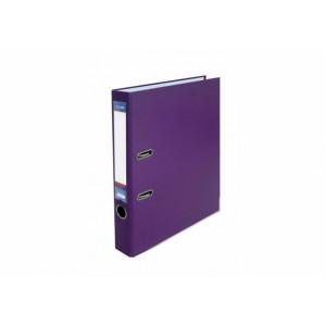 Регистратор 5 см А4 Economix 2стор покрыт, метал окант, фиолетовый, собран (Украина) (E39720*-12)