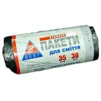 Мешки для мусора 35 л х 30 шт 7 мкм Z-BEST черные (44021)