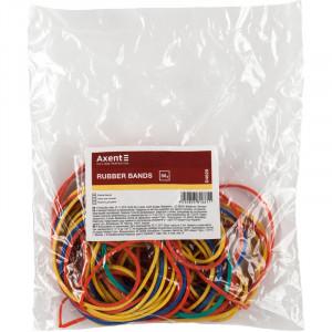 Резинки для денег Axent d/55 мм 50 гр ассорти (D4620)