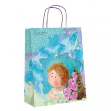 Пакет бумажный подарочный 26 х 32 х 10 см Gapchinska (8502-07)