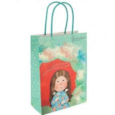Пакет бумажный подарочный 18 х 24 х8 см Gapchinska (8501-07)