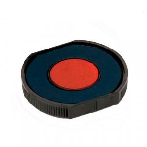 Сменная подушка COLOP E/R40/2 для круглой оснастки R40 2цветная синяя+красная