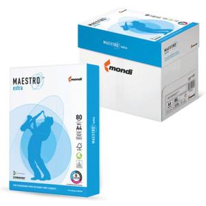 Бумага офисная A4 80 г/м кв класс A+ 170% Maestro Extra 500 л