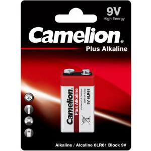 Батарейка 6LR61 9V Camelion Plus Alkaline Крона (6LR61-BP1) 1 шт