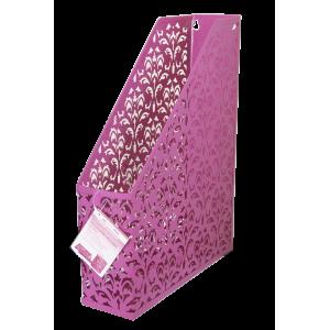 Лоток вертик металл BuroMax Barocco 75 х 248 х 318 мм розовый (BM.6262-10)