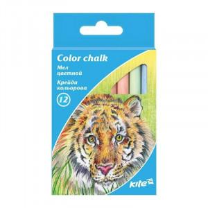 Мел цветной Kite 12 цветов (K17-075)