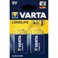 Батарейка 6LR61 9V КРОНА VARTA EXTRA LongLife