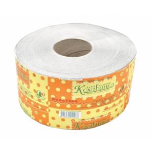 Бумага туалетная 1слойн Кохавинка ВЕЛИКАН серая d-19 см втулка 6 см 135 м (4820032450088)