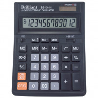 Калькулятор BRILLIANT BS-0444 12 разр 153 x 199 x 31 мм (аналог SDC-444)