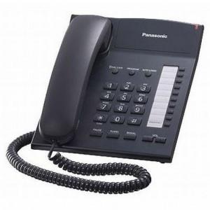 Телефон Panasonic KX-TS2382UAB Black (черный корпус)