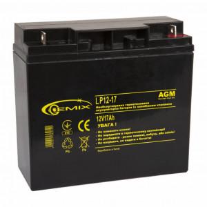 Аккумулятор для ИБП 12В 17 Ач GEMIX (LP12-17)