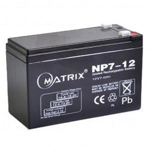 Аккумулятор для ИБП 12В 7 Ач Matrix (NP7-12)