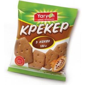 Крекер нежный, с какао, ТМ Yarych/Кожен день (180 гр)
