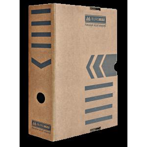 Бокс архивный картон 100 мм 250 х 352 мм BuroMax коричн (BM.3261-34)