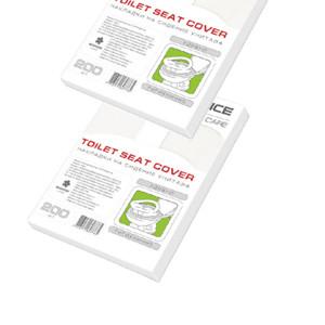 Салфетка-накладка на унитаз PRO Service 1/4 200 шт (24 шт/ящ) без дизайна (31200211)