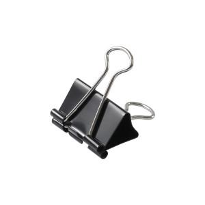 Зажим 15 мм черный Axent 12 шт/уп (D4408)