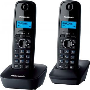 Радиотелефон DECT PANASONIC KX-TG1612UAH