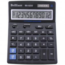 Калькулятор BRILLIANT BS-0222 12 разр 140 x 176 x 45 мм