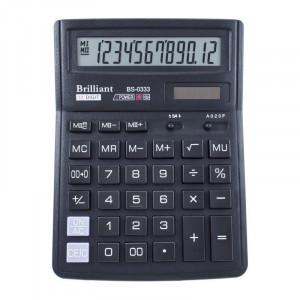 Калькулятор BRILLIANT BS-0333 12 разр 143 x 192 x 39,5 мм