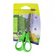 Ножницы детские 130 мм салатовые (ZB.5012-15)